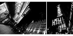 Nanjing Street (davidfattibene) Tags: china urban bw composition shanghai bnvitadistrada bncitt