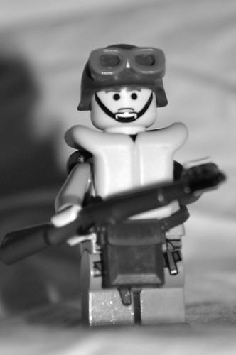 WWII US Paratrooper custom minifig