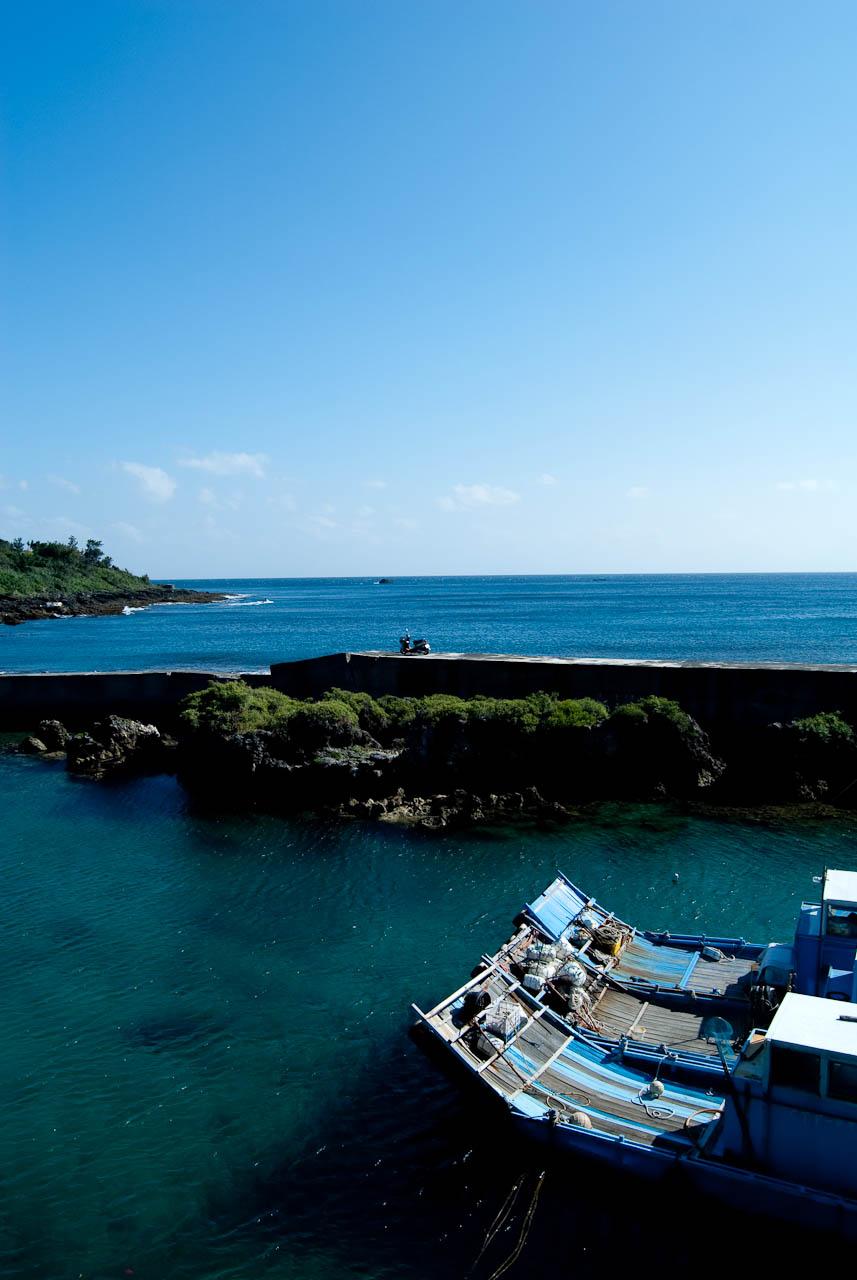 南灣附近的港口
