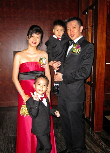 Family in Formal Wear