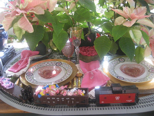 botanical garden train themed party at home
