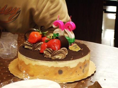 26歲蛋糕