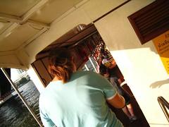Boarding (da_mere) Tags: thailand bangkok chaophrayariver