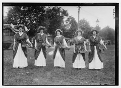 Suffrage Pageant - flower girls  L.I., N.Y.  (LOC) (The Library of Congress) Tags: ny newyork longisland libraryofcongress flowergirls suffragists womenshistory suffrage suffragette pageants 2684 iwd xmlns:dc=httppurlorgdcelements11 suffragepageants bainnewsservice suffragemovement dc:identifier=httphdllocgovlocpnpggbain12930