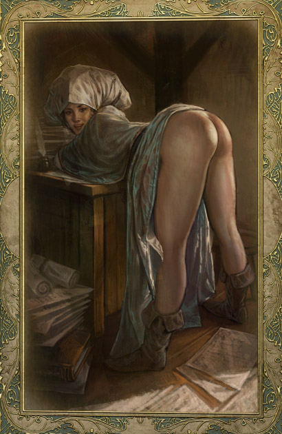 Witcher cards nude