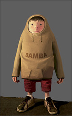 bambalad (nael.) Tags: boy bamba ashleywood paintover nael popbot bambalad