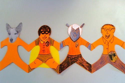 Harmony Day paper dolls