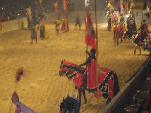 our red knight. he lost.