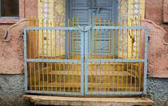 IMG_0424 (boobookittywhat) Tags: india gates vrindavan