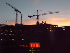 mixed june 08 0nwards 031 (silvermal) Tags: sunset nature landscapes industrial cranes mixture