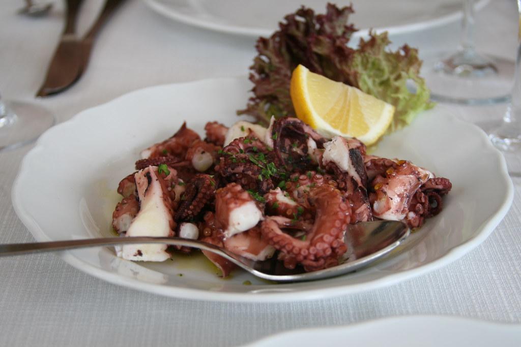 Octopus Salad - Insalata di Polpo