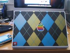 MACBOOK (DJACID) Tags: new look mod paint sale 4 vinyl spray improved macbook my