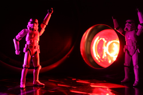 Welcome party - Stormtrooper Night Fever