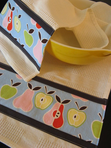 Pear Dish Towel