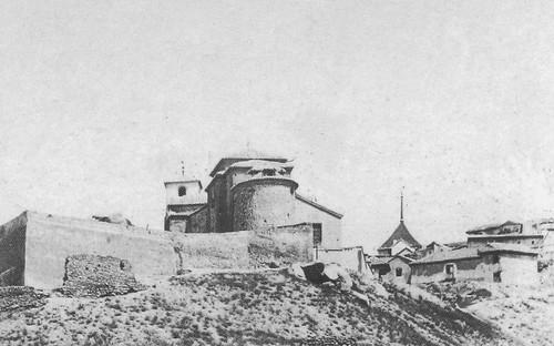 Iglesia de San Lucas a finales del siglo XIX. Fotografía de Casiano Alguacil.