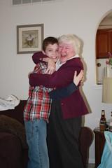 Nate and Grandma Dunckel