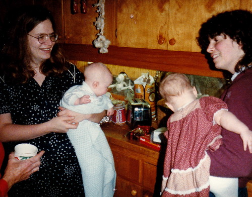 Mom, me, cousin Jill