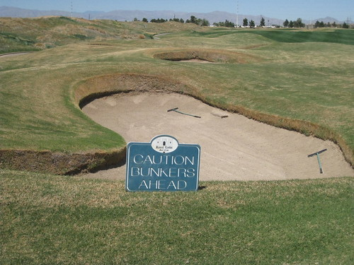 Caution - Bunkers Ahead