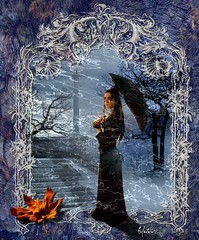Wait for Me (noelevz) Tags: dark gothic victoriafrances