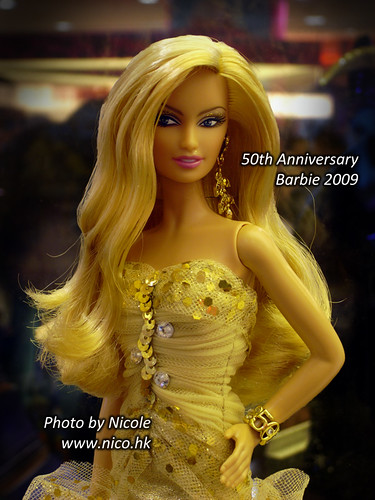 50th Anniversary Barbie 2009