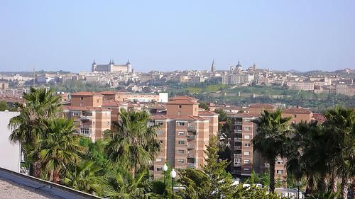 Vistas de Toledo desde la habitación