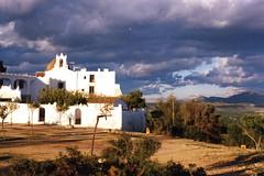 1995-0128 Vinaros Ermita mit Wolken