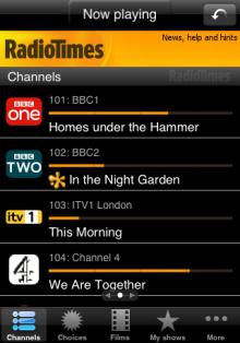 Radio Times app