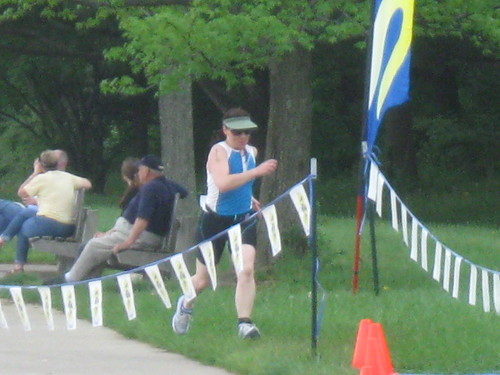 Sprinting toward the finish