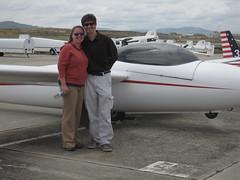 Sailplane! (ramblingrovers) Tags: glider hollister sailplane