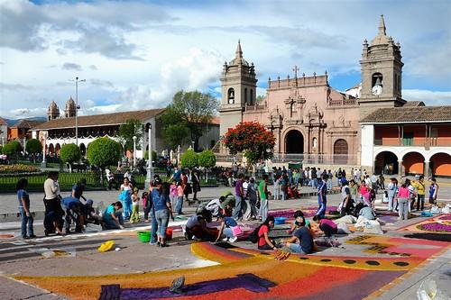Ayacucho se prepara para la Procesión del Señor del Santo Sepulcro