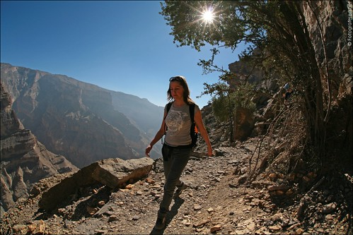 Oman's Grand Canyon (Jabal Shams) 06