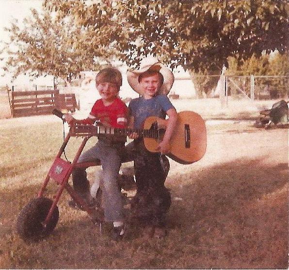 Me & Russ 1983