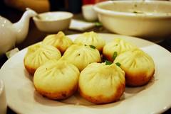 Pan-fried Pork Buns - New Shanghai, Chatswood (avlxyz) Tags: food sydney australia pork nsw newsouthwales bun chatswood panfried 生煎包 newshanghai 新上海