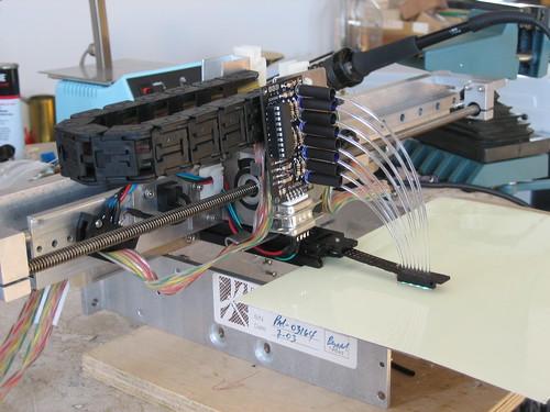 Ghostmatrix motor stage and print head