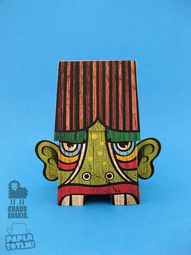 Paper Totem! x Chauskoskis