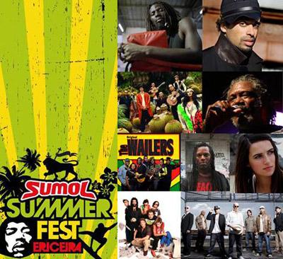 Sumol Summer Fest - 26 e 27 Junho – Ericeira
