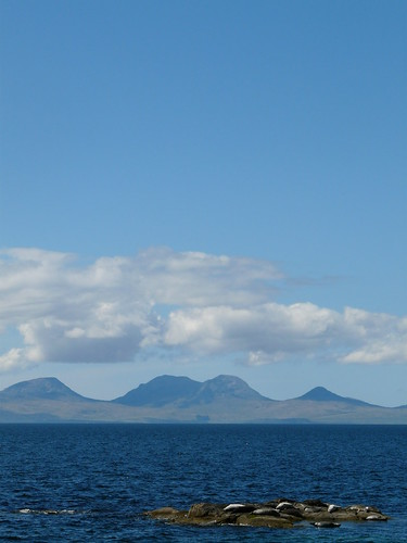 view to jura