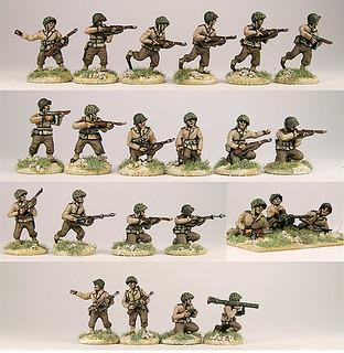 20mm Warmodelling U.S. Infantry (E.T.O.)