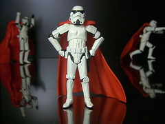 Super Troopers! (JD Hancock) Tags: red favorite trooper reflection fun toy actionfigure star starwars interesting funny action humor super superman explore cc figure scifi stormtrooper cape wars 5k 1k thesecretlifeoftoys nogeo inkitchen cmwd cmwdred galleried jdhancock
