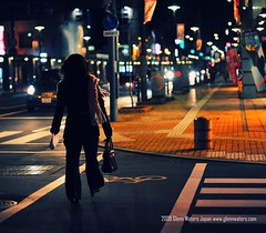 Hirosaki Nights © Glenn Waters (Explored Front Page) Over 21,000 visits to this photo.  Thank you. (Glenn Waters ぐれんin Japan.) Tags: road street japan night bokeh explore 日本 hirosaki frontpage japon 夜 弘前 8514 ボケ explored ニコン nikkor85mmf14d nikkor85mm14d d700 nikond700 ぐれん glennwaters