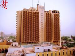 El hotel Palestine