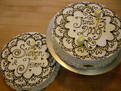 henna lace (Josef's Vienna Bakery) Tags: vienna birthday wedding food black cake dessert marisa sweet anniversary weddingcake nevada tahoe tasty explore bakery bow reno bridal henna sparks edible hess josefs marisahess