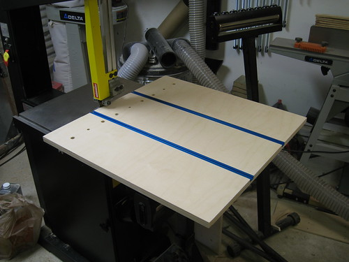 resawing jig base