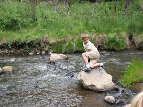 Stream Crossing JD Boy