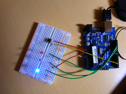 Arduino Switch LED Circuit