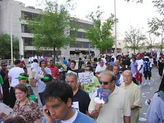 DSCN7107 (Hiloxy) Tags: atlanta georgia election downtown iran rally protest demonstration mullah cnncenter khamenei ahmadinejad iranelection riggedelection humanrightsviolation thegreenmovement mousavi whereismyvote iranianregime