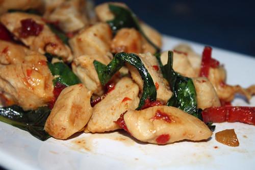 Thai Basil Chicken 1