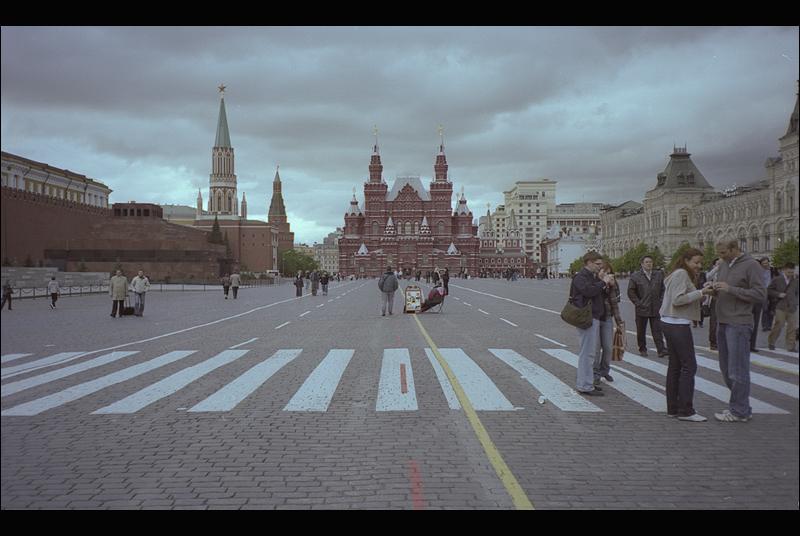 Like a tourist