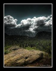 Chamrousse (Jerome Mercier) Tags: leica mountain france stone clouds montagne alpes photography spirit pierre nuages hdr ballade roche chamrousse randonne marcher isre leicadigilux3 bookjm