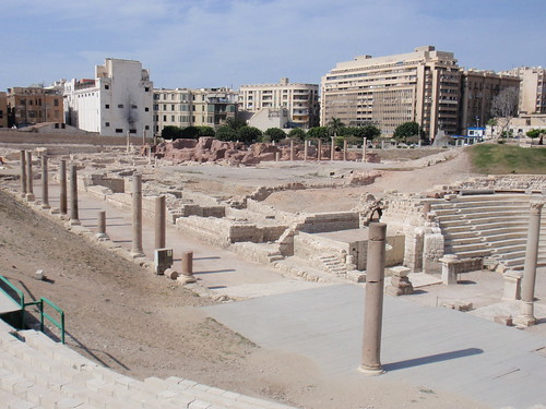 Roman Amphitheatre Ruins